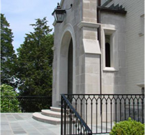 Indiana Limestone Entry Feature